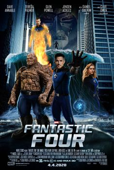Marvel S Fantastic Four Movie Poster 2 Fantastic Four Movie Fantastic Four Marvel Infinity War