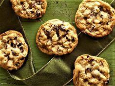 Cookies de chocolate com cranberry.