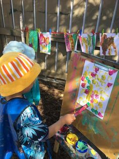 A beautiful day to get the paint brushes out.. #Childcare #Daycare #Kindergarten #Preschool #EarlyLearning #EarlyEducation #EarlyChildhoodEducation #LearningLinks #LearningLinksChildcare #Montessori #EarlyChildhood #ECE #DunedinNZ #Toddlers #Infant #MontessoriEducation #MontessoriActivities #MontessoriPlay #MontessoriKids #MontessoriToddlers #KidsPainting #KidsArt #KidsArtWork #KidsDrawing Montessori Education, Montessori Activities, Early Education, Early Childhood Education, Learning Centers, Early Learning, Painting For Kids, Art For Kids, Kids Artwork