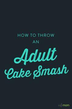 Kirstis Golden Birthday Adult Cake Smash Photo session sunshyne