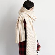 Big High Collar Warm Wool Women Scarves //Item is FREE Shipping Worldwide! //     #fashion #autumn #winter #spring #trending #latest #new