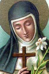 Blessed Jane of Toulouse - Carmelite sister who devoted her life to her faith and to serving others and encouraging vocations. Feast day - 3/30. Lord, help me to follow the example of Blessed Jane in making the most of each moment of every day to serve you and to love others.