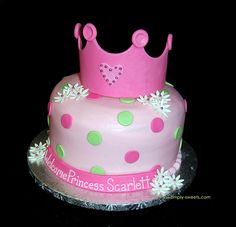 Princess Baby Shower Cake by Simply Sweets, via Flickr
