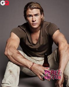 Chris Hemsworth Wants To Be More Than A Piece Of Meat! — Why, I ask. We carnivores are not complaining.  ;)