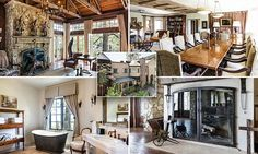 Crosses in Passion of the Christ Mel Gibson's  mansion listed $17.5m