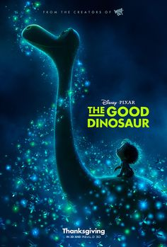 "Beginning October 16, you can preview scenes from Disney•Pixar's ""The Good Dinosaur"" with special in-theater effects at the Bug's Life Theater in Disney California Adventure park!"