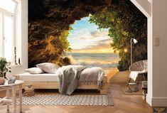 Gizli Çıkış - Mağaradan Deniz Kum Gün Batımı Gökyüzü Manzaralı Komar 8-984 https://www.duvarkagidimodelleri.gen.tr/magaza/?swoof=1&product_cat=duvar-posteri&pa_kullanim-yeri=cocuk-odasi
