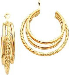 14k Gold Twisted Love Knot Earring Ja For Only 124 99