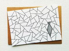 Card - Tie - Birthday card - Happy birthday - Gay wedding card - Wedding card - Congratulations card - Party - Bar mitswa card - Handdrawn