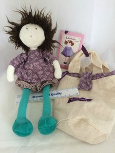 *SOLD* Louison la Coquettes Cloth Doll Moulin Roty EXC with bag Soft Rag with Tags $24.99 free shipping