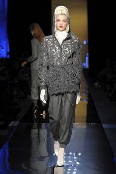 Défilé haute couture, automne-hiver 2014-2015, Jean Paul Gaultier.  #mode #fashion #couture