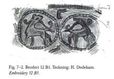 I have talked at length about the relative lack of embroidery in Viking Age finds, but I am going to summarize those earlier discussions here as a preface to some new thoughts. Embroidery as a whole. Viking Embroidery, Viking Costume, Tablet Weaving, Nordic Art, Herringbone Stitch, Viking Age, New Thought, Running Stitch, Anglo Saxon