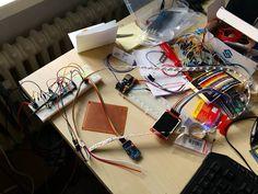 Led Clock setup  #arduino  #make #ws2812b by mirkbot