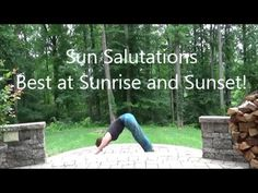 Sun Salutations for a Focused Mind. {Video} | elephant journal