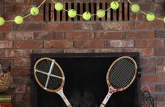 Tennis Ball Garland DIY