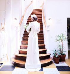 An afternoon at Laure de Sagazan Atelier in Paris, who creates exquisite, timeless wedding attire for modern brides. Parisian Wedding Dress, Paris Wedding, French Wedding, Timeless Wedding, Fashion Creator, Wedding Attire, Wedding Dresses, Romantic Paris, Paris Pictures