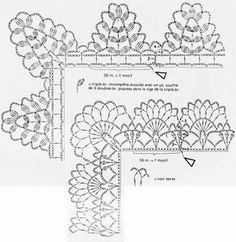 Crochet Lace  patterns and instructions