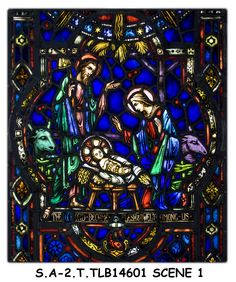 stained glass nativity - Google Search