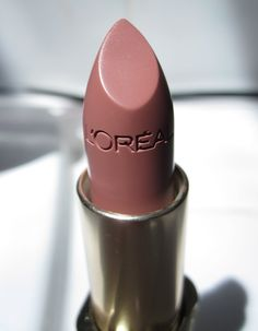 L'Oreal Paris Colour Riche Lipstick in FAIREST NUDE! Hands down my favorite nude lipstick. If you haven't tried you have too.