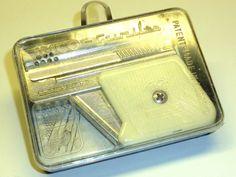 IMCO  6900 GUNLITE  PETROL AUTOMATIC LIGHTER - PISTOLENFEUERZEUG - 1960 -AUSTRIA