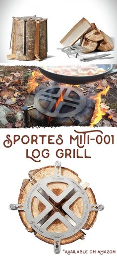 Expand your bushcraft and survival skills and capabilities with this re-invented design. A great gift for the person who enjoys cooking on a campfire or a staple for your emergency or bug out bag! Available on Amazon.