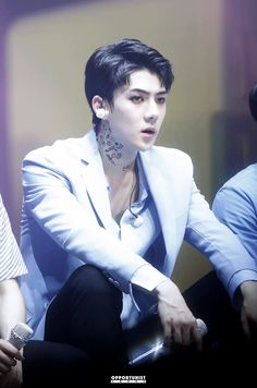 Image uploaded by Cathy Phan. Find images and videos about kpop, exo and sehun on We Heart It - the app to get lost in what you love.