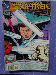 Amazing Rare Vintage Star Trek Comic year apr no. 59 in absolute excellent condition, mint new. Comic Book List, Dc Comic Books, Vintage Comic Books, Vintage Comics, Star Trek Books, Spock And Kirk, Star Trek Images, Star Trek Original Series, Old Flame