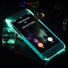 2016 Super Flash Up Light LED Mobile Phone Case for iPhone 6 5 SE 6 Plus Cover Sakura Astronaut Duck Design PC Coque shell lighting case Apple Iphone 6, Iphone 7, Iphone Cases, Light Up Phone Case, Iphone Light, Shell, Bling, Selfie, 6s Plus