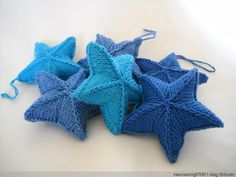 Good pics how to knit a star!!!