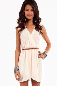Wrap Me Up Dress $33 at www.tobi.com