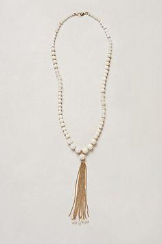 Canzonetta Tassel Necklace #anthropologie