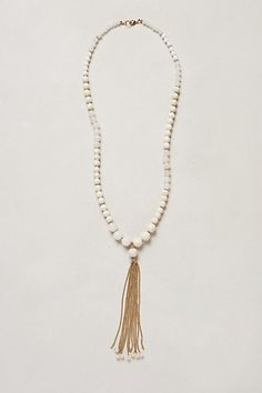 Canzonetta Tassel Necklace #anthropologie 32 inches long with a 7 inch pendant lobster clasp