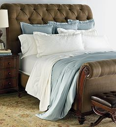 Inspired by the finest hotel beds, the only thing missing from these linens is the turndown service!