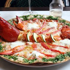 Why Would You Ever Eat a NYC Pizza WITHOUT a Whole Lobster on It?