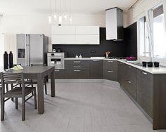 Fotos de cocinas grises