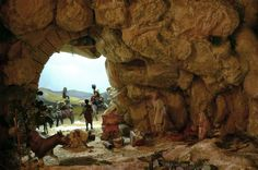 Christmas Nativity Scene, Mount Rushmore, Christmas Decorations, Mountains, Places, Water, Travel, Outdoor, Ideas Para