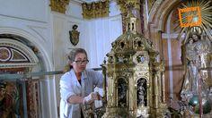Los trabajos en la Custodia del Corpus descubren piezas desaparecidas