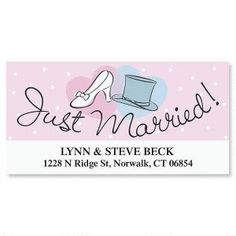 Love & Marriage  Deluxe Address Labels