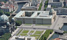 The proposed Berlin Palace – Humboldt Forum. Berlin Today, Berlin Germany, Humboldt Forum, Big Mansions, Germany Castles, Imperial Palace, Cities In Europe, Classical Architecture, Lush