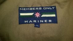 Members Only Mariner Goya Brown XXL Full Zip Sailing or Golf Jacket #MembersOnlyMariner #BasicJacket
