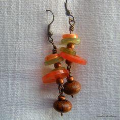cute button earrings