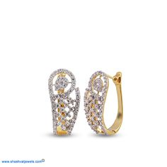 Perfect for that date you've been planning, team these diamond beauties with a floral dress and you have yourself a winner! #diamond #hoops http://www.shashvatjewels.com/ProductDetail.aspx?prdid=934&name=Little%20Curve%20Diamond%20Hoop%20Earrings All our designs are available in white gold and silver..!!