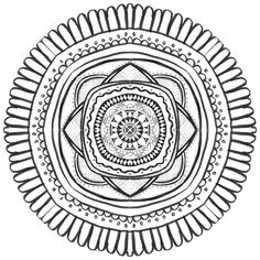 22 Best Gifted & Talented Art Student Projects MANDALAS