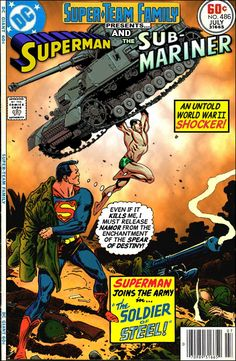 Super-Team Family: The Lost Issues!: Superman and The Sub-Mariner