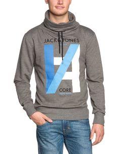 JACK & JONES Herren Sweatshirt 12067622 PORT SWEAT CORE PB 7-12 2013 HIGH NECK, Gr. 54 (XL), Grau (GREY MELANGE B30) - [ #Germany #Deutschland ] #Bekleidung [ more details at ... http://deutschdesign.apparelique.com/jack-jones-herren-sweatshirt-12067622-port-sweat-core-pb-7-12-2013-high-neck-gr-54-xl-grau-grey-melange-b30/ ]