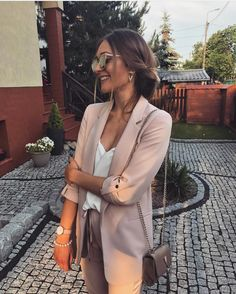 43 Office Outfits Highlight the Independent Side of Women suit, work outfits, office, handsome, work Business Casual Outfits, Professional Outfits, Office Outfits, Business Fashion, Classy Outfits, Chic Outfits, Summer Outfits, Business Style, Formal Outfits
