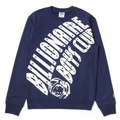 BILLIONAIRE BOYS CLUB ZOOM ARCH LOGO CREWNECK 15SPRING Hype Clothing, Billionaire Boys Club, Mens Fashion, Fashion Outfits, Bape, Graphic Sweatshirt, T Shirt, Cool Shirts, Street Styles