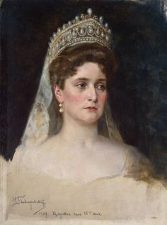 Image detail for -Portrait of Empress Alexandra Fyodorovna Painting by Bodarevsky ...La Regente Peral