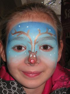 face painting | Christmas - Busy Bees Face Painting