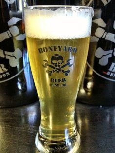 "BONEYARD'S Habanero Ale. ""HOT like fi-yah!"" Boneyard Brewing, Bend OR"